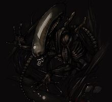 ALIEN by Anarchpeace