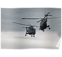Greet And Meet, Helicopter Style. Poster