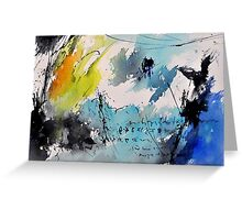 abstract 216042 Greeting Card