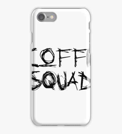Coffin Squad Labelled iPhone Case/Skin