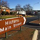 Historic Main Street at Grenfell by Darren Stones