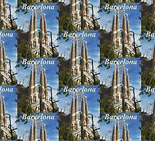 Barcelona T-Shirt by Andrew Pounder