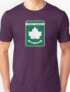 Nova Scotia, Trans-Canada Highway Sign T-Shirt