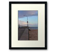 The Pier Framed Print
