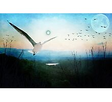 Once There Were Two Moons..... Photographic Print