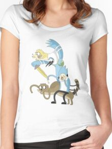 Adventure Show Women's Fitted Scoop T-Shirt