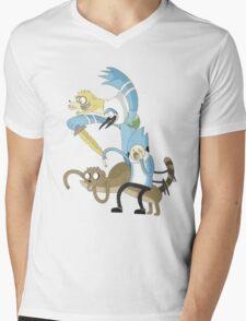 Adventure Show Mens V-Neck T-Shirt