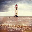 Talacre Lighthouse by Dfilmuk Photos
