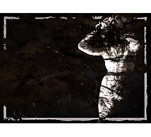 buried conscience Photographic Print