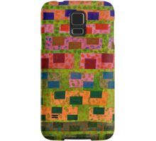 Added Colour to a Colourful Wall Samsung Galaxy Case/Skin