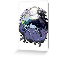 Adventure Time Greeting Card