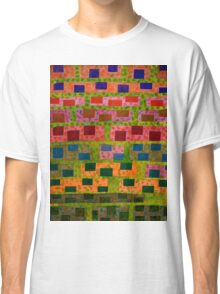 Added Colour to a Colourful Wall Classic T-Shirt