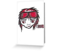 Manga Boy Greeting Card
