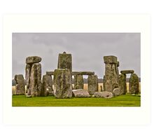 The Henge Art Print