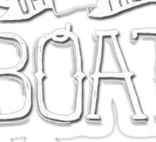 Fresh off the boat! Sticker