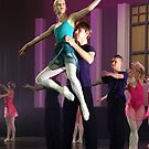 Ballet dancers #4 by Peter Voerman