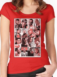 The Barksdale Crew - The Wire Women's Fitted Scoop T-Shirt