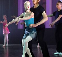 Ballet dancers #5 by Peter Voerman