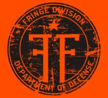 Fringe Division (dark print and stickers) T-Shirt