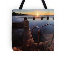 Ocean Pool Coogee winter 2012 Tote Bag