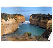 Lock Ard Gorge. Port Campbell National Park, Victoria, Australia. Poster