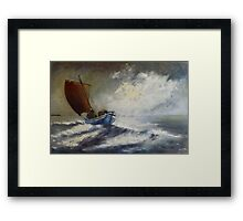 Last Catch of The Day Framed Print