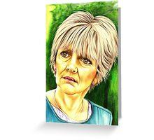 Jean Slater - Eastenders Greeting Card