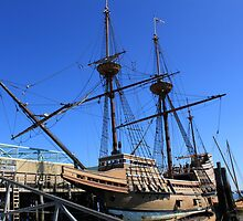 Mayflower sailing ship photography by Vitaliy Gonikman