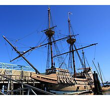 Mayflower sailing ship photography Photographic Print
