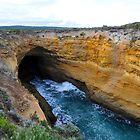 Thunder Cave. Port Campbell National Park, Victoria, Australia by Ralph de Zilva