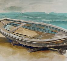 The Boat by Jane Saunders