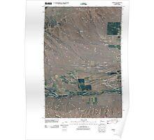 USGS Topo Map Washington State WA Tampico 20110404 TM Poster