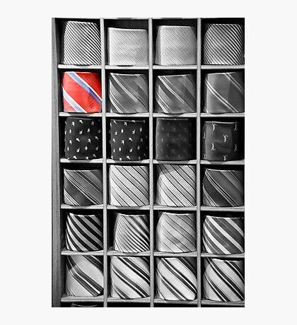 Tie Game Photographic Print