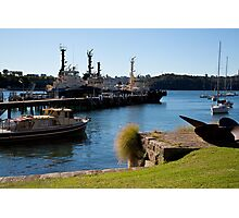 Propeller Park Tugs Photographic Print