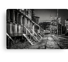 Old trains... Canvas Print