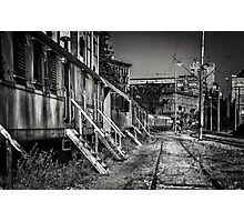 Old trains... Photographic Print
