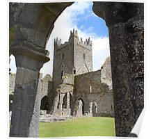 Jerpoint Abbey Poster