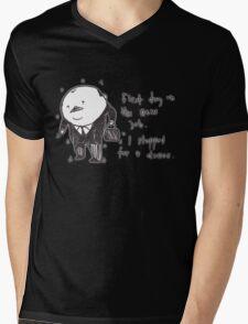 Charles the business man Mens V-Neck T-Shirt
