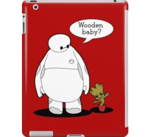 Wooden Baby iPad Case/Skin