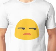 Unamused face emoji Unisex T-Shirt