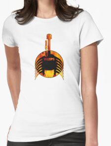 My Guitar Gently Weeps Womens Fitted T-Shirt