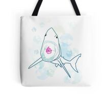 Sharks love cupcakes Tote Bag