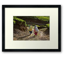 Monday is here. Tea time it is Framed Print
