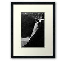 Blue Nile Falls Framed Print