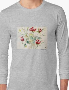 Grouping of Roses Long Sleeve T-Shirt