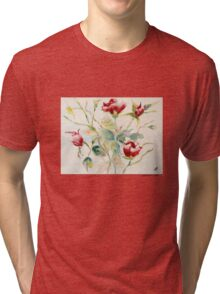 Grouping of Roses Tri-blend T-Shirt