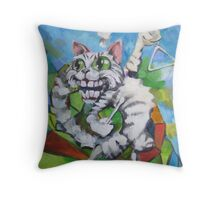 Waiting For A Moment Throw Pillow