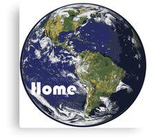 Earth - Home Canvas Print