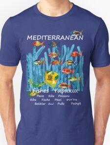 MEDITERRANEAN FISHES Unisex T-Shirt