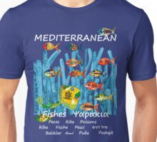 MEDITERRANEAN FISHES Unisex T-Shirt